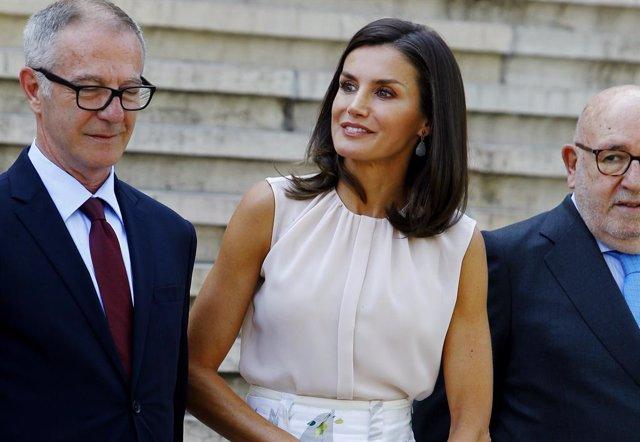 La Reina Doña Letizia preside este martes en Torrejoncillo (Cáceres) el acto de