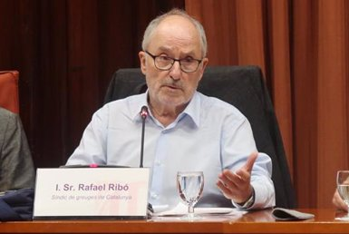 """Ribó nega que tingui cap relació amb la trama del 3% i acusa Cs de """"difamar-lo"""" (PARLAMENT DE CATALUNYA - Archivo)"""