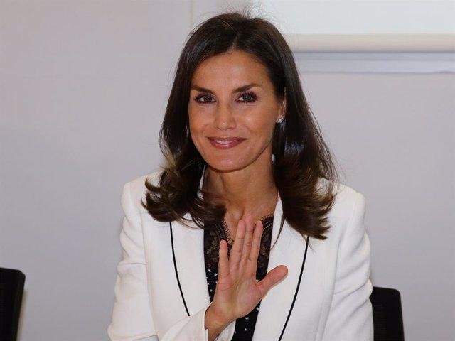 La Reina Letizia visita este viernes en Burgos el Centro de Enfermedades Raras,