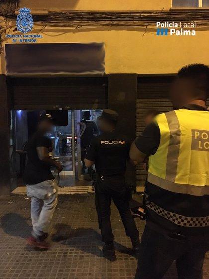 Detenidas 12 personas en Palma en un fin de semana por cometer varios delitos, entre ellos, menudeo de drogas