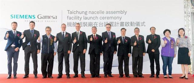 Siemens Gamesa Renewable Energy construirá una nueva planta de ensamblaje de nacelles 'offshore' en Taiwán