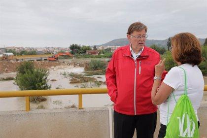 La Generalitat Valenciana pedirá la declaración de zona catastrófica pero insiste en un 'Plan Marshall'