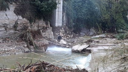 La DANA causa daños de ocho millones de euros en el sistema de depuración de aguas de Ontinyent (Valencia)
