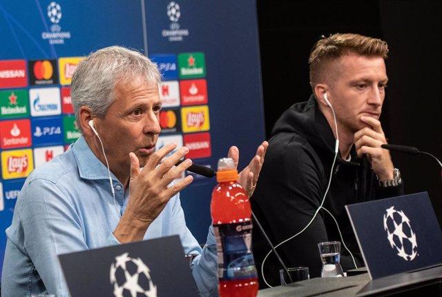 """Fútbol/Champions.- Lucien Favre: """"El Bara sigue siendo bueno con o sin Messi"""""""