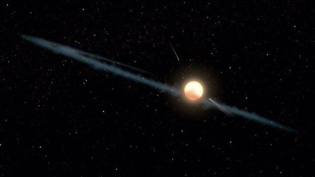 Una exoluna, explicación a los oscurecimientos de la estrella de Tabby