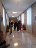 Casado y Rivera se reúnen en el despacho del líder del PP en el Congreso