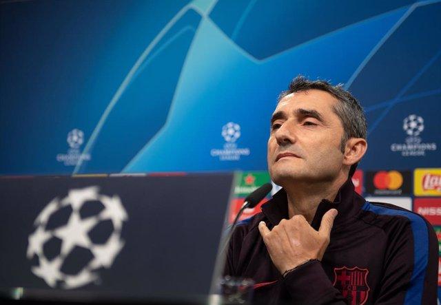 """Fútbol/Champions.- Valverde: """"Es un plato fuerte y una buena piedra de toque par"""