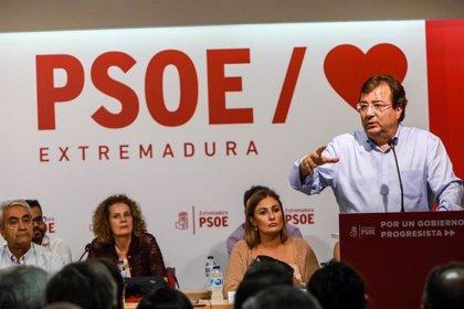 """El PSOE aprobará en la Asamblea """"cuanto antes mejor"""" suprimir la limitación de mandatos del presidente de la Junta"""