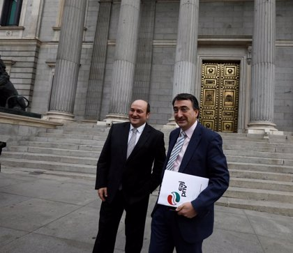 """El PNV ve """"un paripé más de Ciudadanos"""" su oferta para abstenerse en la investidura"""