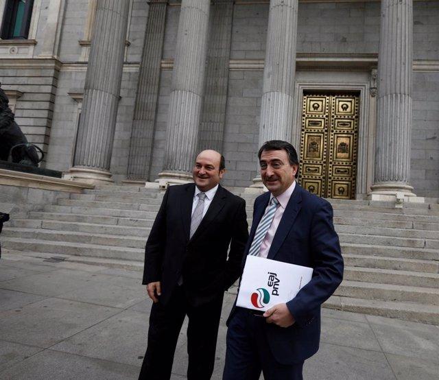 Andoni Ortúzar y Aitor Esteban, del PNV