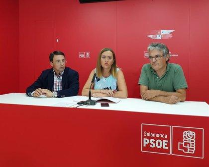"""Barcones asegura que el PSCyL """"no va a consentir ninguna fusión de municipios"""" y llama """"cierra pueblos"""" a Cs y PP"""