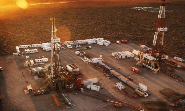 Yacimiento de petróleo y gas en Vaca Muerta.