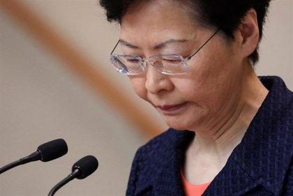 La jefa de Gobierno de Hong Kong anuncia que el diálogo para solventar la crisis comenzará la próxima semana