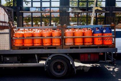 El precio medio de la bombona de butano bajará un 4,86% desde hoy, hasta 12,15 euros