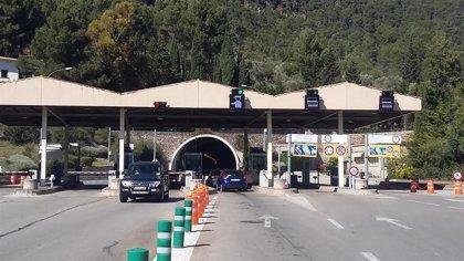 El túnel de Sóller permanecerá cerrado en sentido Palma las noches de los días 17, 18 y 19, y la madrugada del 20