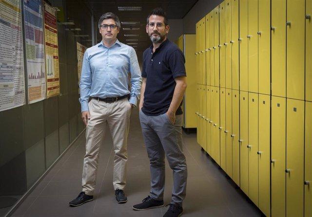 Los profesores de Medicina de la CEU UCH Gonzalo Haro y Francisco Arnau, coautores del estudio más amplio realizado en España sobre pacientes derivados a la consulta de psiquiatría penitenciaria