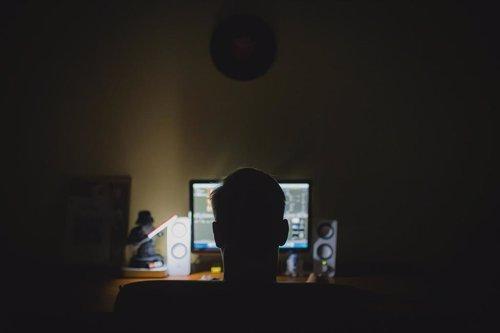 Ciberseguridad, hacker, imagen de recurso
