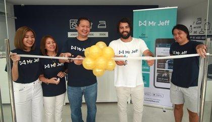 La 'startup' española Mr Jeff abre su primera franquicia en Asia