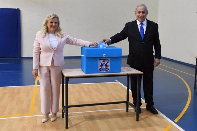 Israel.- Netanyahu y Gantz llaman a los israelíes a acudir a las urnas tras depo