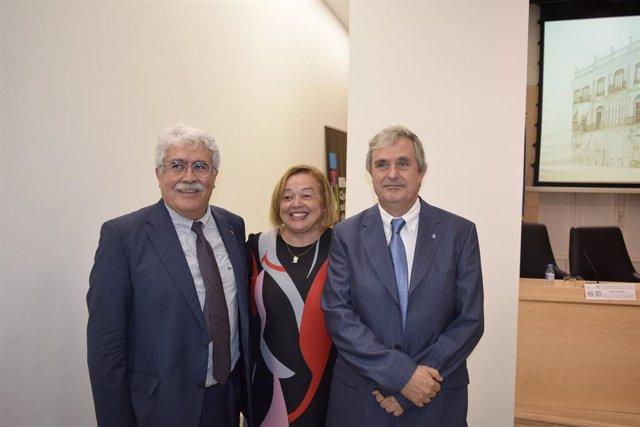 Toma de posesión de Juan fuster como nuevo delegado institucional del CSIC