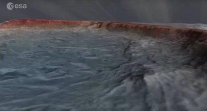 VÍDEO Vuela sobre la zona de aterrizaje en Marte del rover Rosalind Franklin