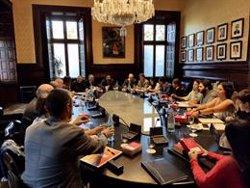El Parlament concedeix una prestació a Junqueras i Jordi Sànchez (EUROPA PRESS)