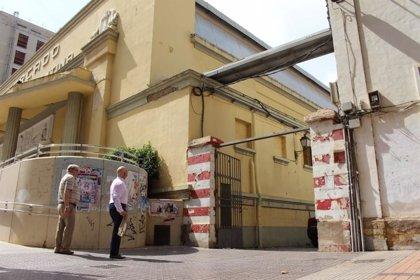 El temporal de la gota fría causa desperfectos en el Mercado de Santa Florentina (Cartagena)