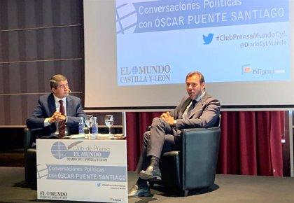 """Óscar Puente cree que Igea tiene """"recluido"""" a Mañueco, como """"una figura monárquica"""""""