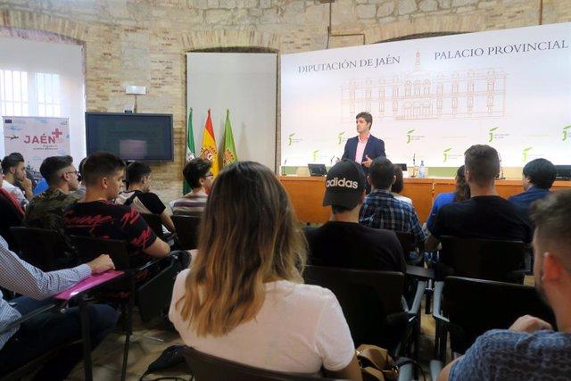 Jornada de orientación laboral enmarcada en el proyecto Jaén+ (II).