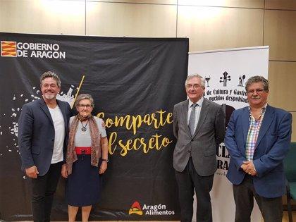 Cultura y gastronomía en el festival 'En Clave de Aragón' de Palo (Huesca) para impulsar el desarrollo rural
