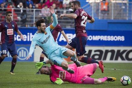 El Barcelona visitará al Eibar en la matinal del sábado 19 de octubre