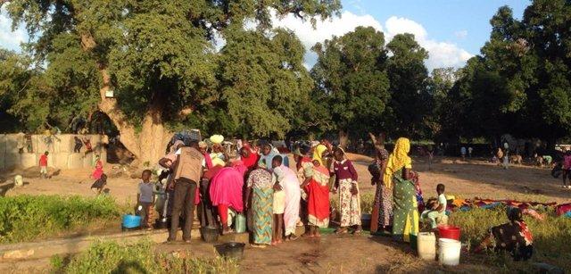 R.Centroafricana.- Más de 13.000 desplazados por un repunte de la violencia en e