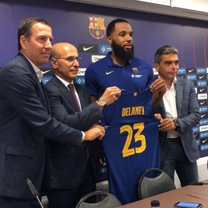 """Delaney: """"Hace tres años que el Barça muestra interés y ya estoy aquí con ganas de ganar"""""""
