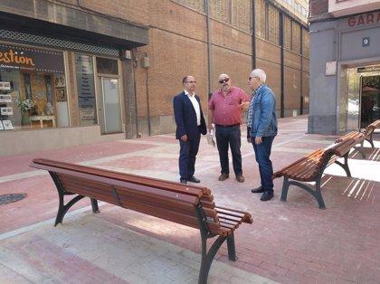 El Ayuntamiento de Valladolid concluye la peatonalización de un tramo de la calle Recoletas