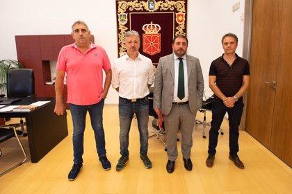 El presidente del Parlamento y UAGN abogan por medidas a favor del equilibrio territorial