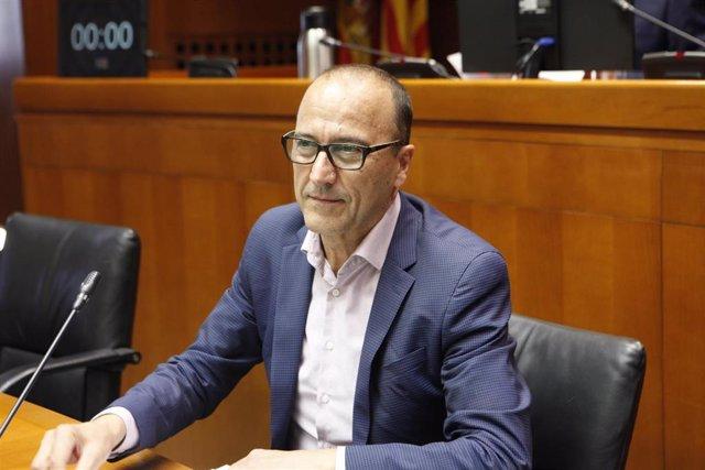 El consejero de Educación del Gobierno de Aragón, Felipe Faci