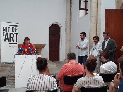 El Consell organiza la exposición 'Terres Llunyanes' con motivo de la Nit de l'Art de Palma