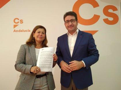 Cs presenta mociones en ayuntamientos de Sevilla para exigir la convocatoria del Consejo de Política Fiscal y Financiero