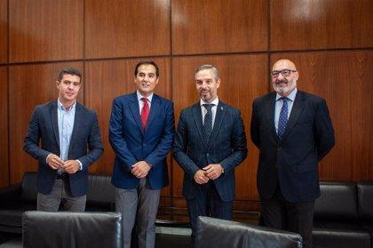 PP, Cs y Vox constituyen la comisión de seguimiento del pacto presupuestario en Andalucía