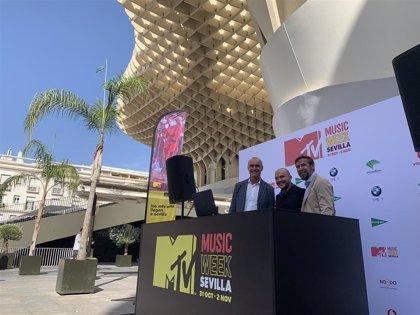 Sevilla acogerá dos grandes conciertos en el CAAC y la Plaza de España como antesala de la gala de la MTV