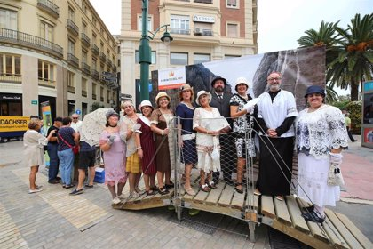 El Caminito de Rey busca adhesiones para su candidatura a Patrimonio Mundial con una campaña en el centro de Málaga