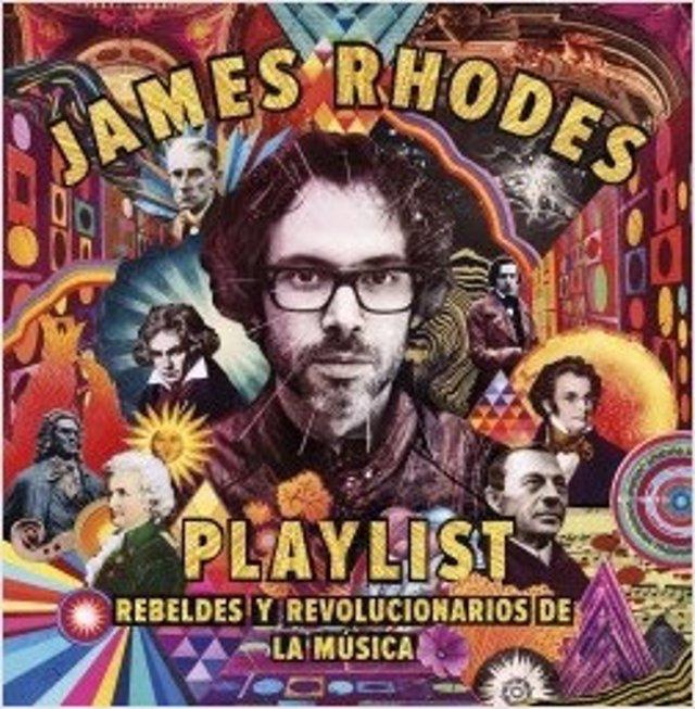 El pianista inglés James Rhodes publica 'Playlist. Rebeldes y revolucionarios de la música' (Planeta)