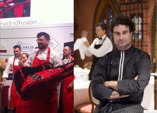 Los chefs con Estrella Pepe Rodríguez y Jesús Segura encabezan los  proyectos qu