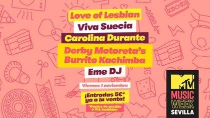 MTV Music Week 2019: la música y la cultura pop invadirán Sevilla