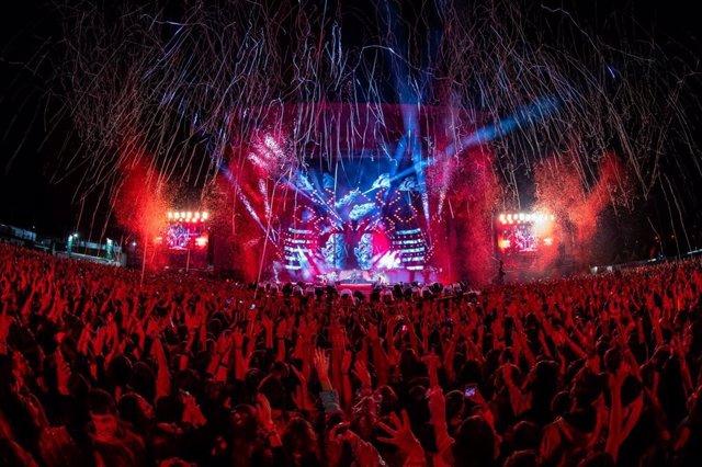 Escenario del Coca-Cola Music Experience 2019
