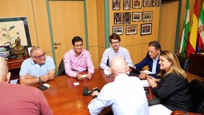 Linares (Jaén) pide acoger el acto de presentación de la ITI y ser sede de la Oficina de Proyectos
