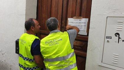 Precintado un edificio del casco histórico usado ilegalmente como alojamiento por un hostal ya expedientado