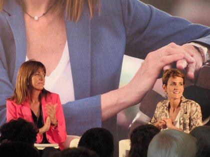 """Chivite acusa a Rivera de poner su cabeza """"en medio de la política nacional"""" para """"inflamar el debate público"""""""