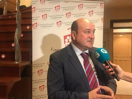 """Ortuzar (PNV) ve un """"fracaso político total"""" que no haya investidura, de lo que culpa a Sánchez e Iglesias"""