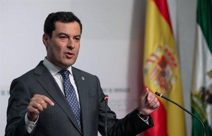 """Juanma Moreno: """"Todos los candidatos han llegado a acuerdos menos uno. La repetición electoral es un fracaso de Sánchez"""""""